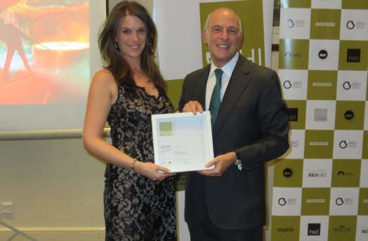 Erin - cropped. Success for archaeology alumni at prestigious heritage awards. 11.11.15