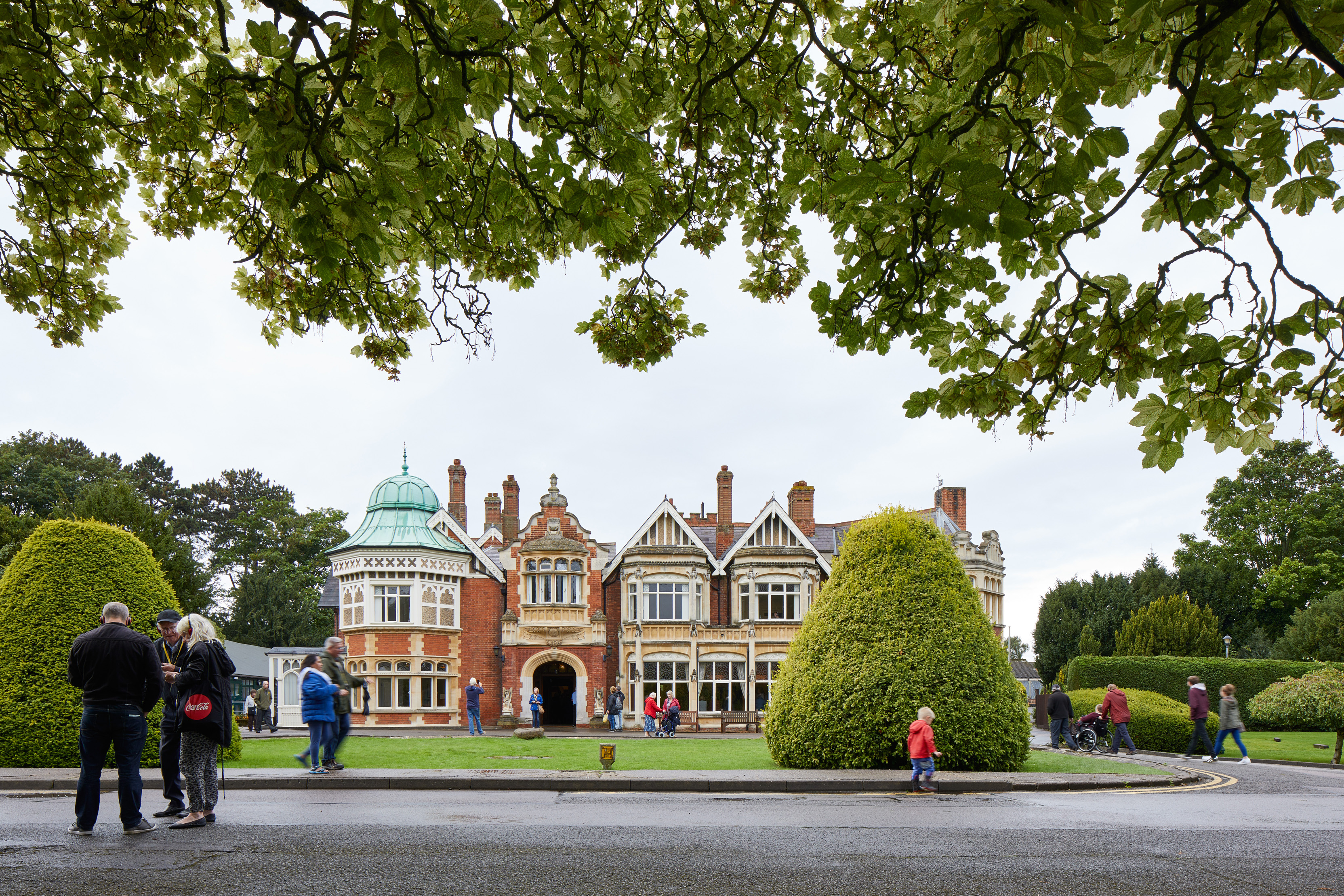 The Mansion visitors - Image by Andy Stagg courtesy of Bletchley Park Tr...