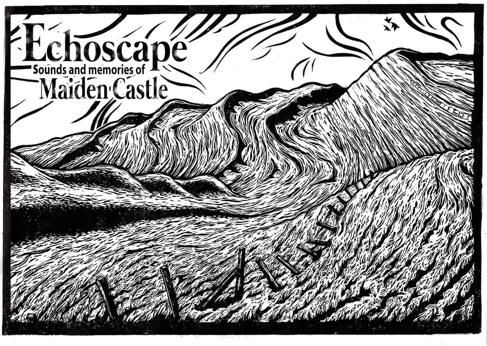 Outdoors - Echoscape - woodcut