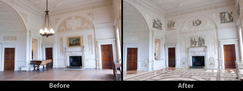 Nostell-before-after